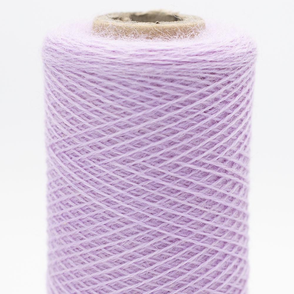 Kremke Soul Wool Merino Spindelvævs Lace 25/2 Violet Blossom