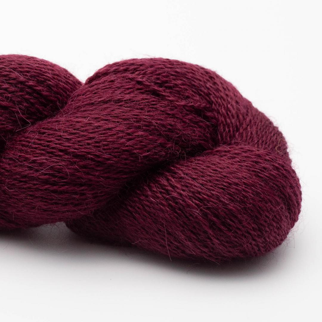 Kremke Soul Wool Babyalpaka Lace Bordeaux