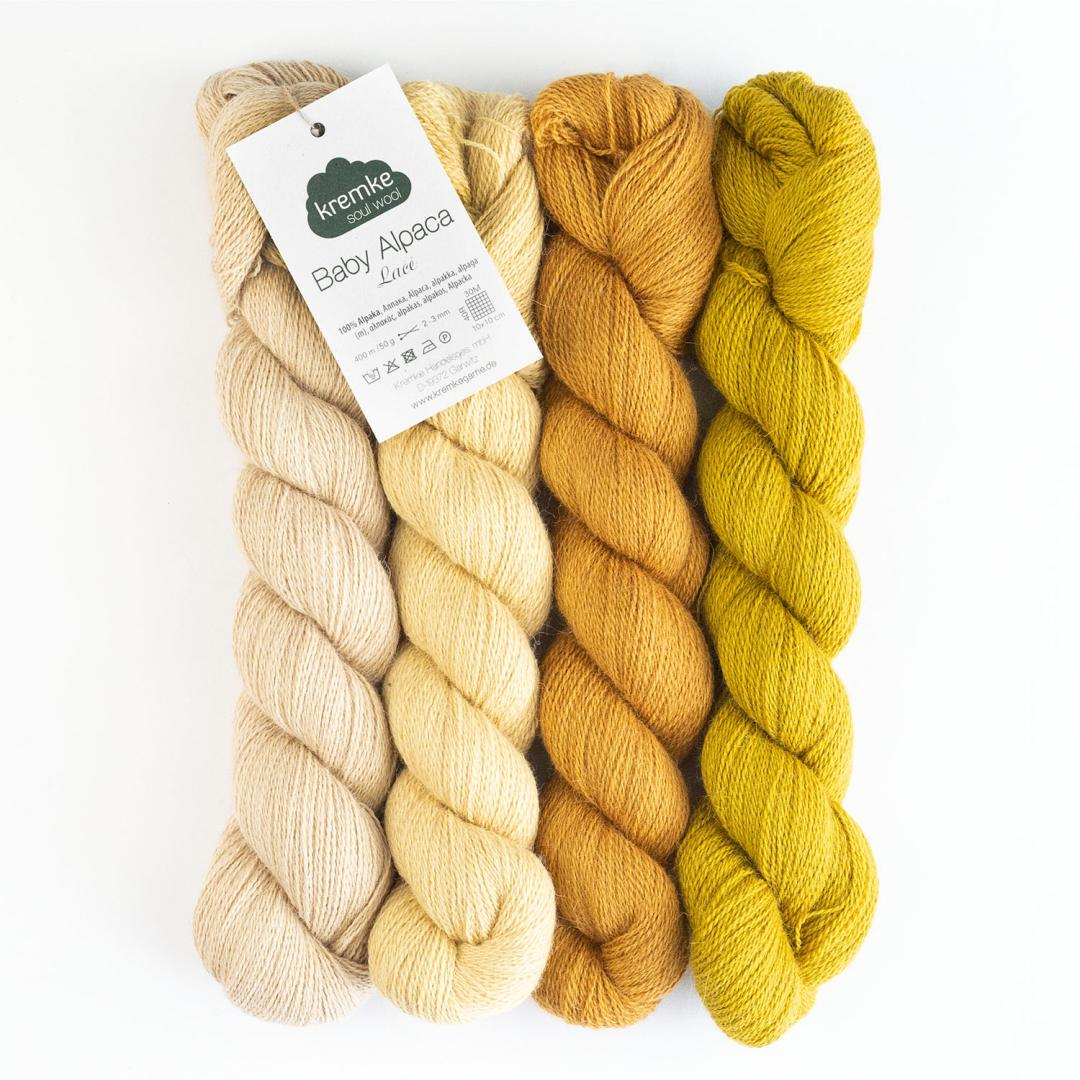 Kremke Soul Wool Babyalpaka Lace