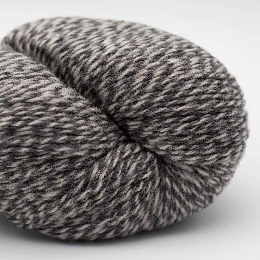 BC Garn Semilla Pura 100g GOTS Medium Grey Marled