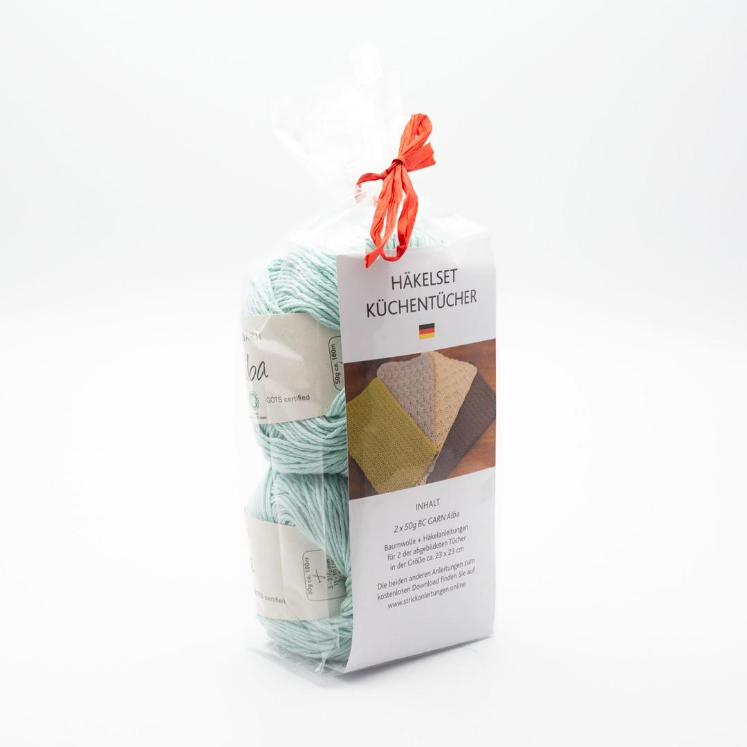 BC Garn Kit Kitchen Cloth Babyblau