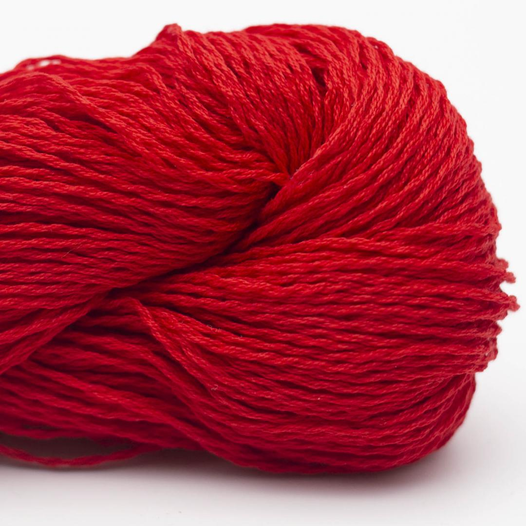BC Garn Luxor mercerised Cotton Kirschrot