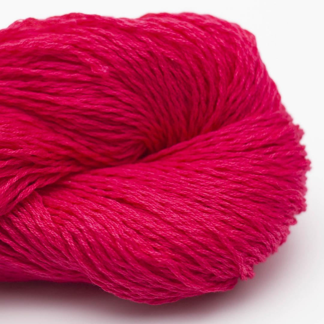 BC Garn Luxor mercerised Cotton Dunkelpink