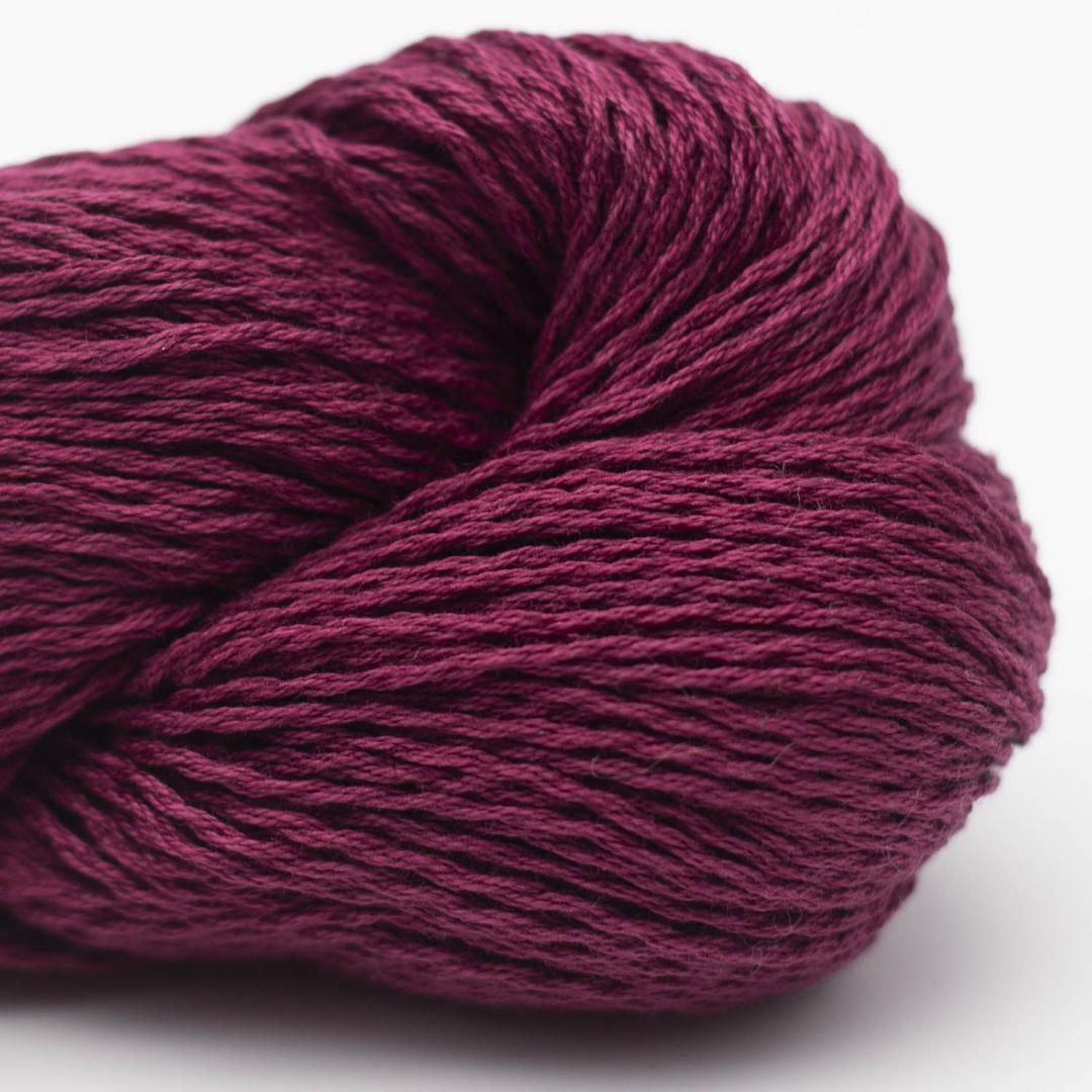 BC Garn Luxor mercerised Cotton bordeaux