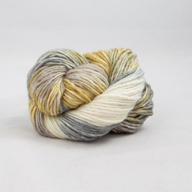 Cowgirl Blues Aran Single Flerfarvet  CaramelSableSilverfoxNatural