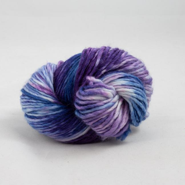 Cowgirl Blues Aran Single Flerfarvet  VioletLilacIcedberryTanzanite