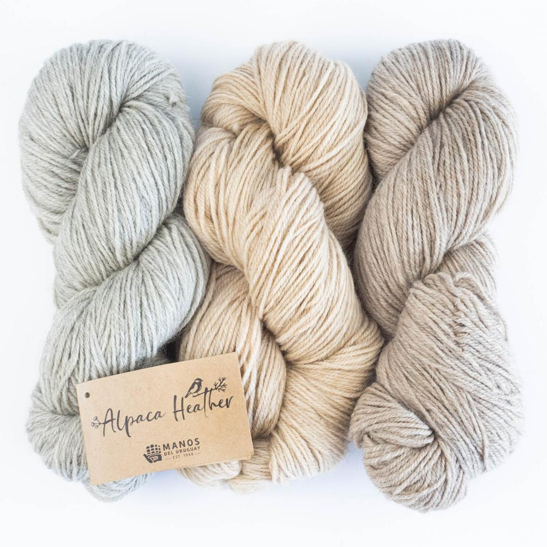 Manos del Uruguay Alpaca Heather Naturals  Grey