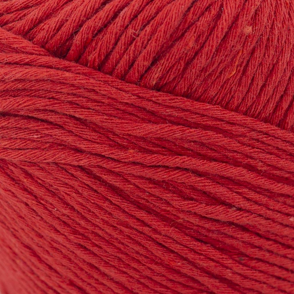 Kremke Soul Wool Karma Cotton, recycled bomuld Cherry Red