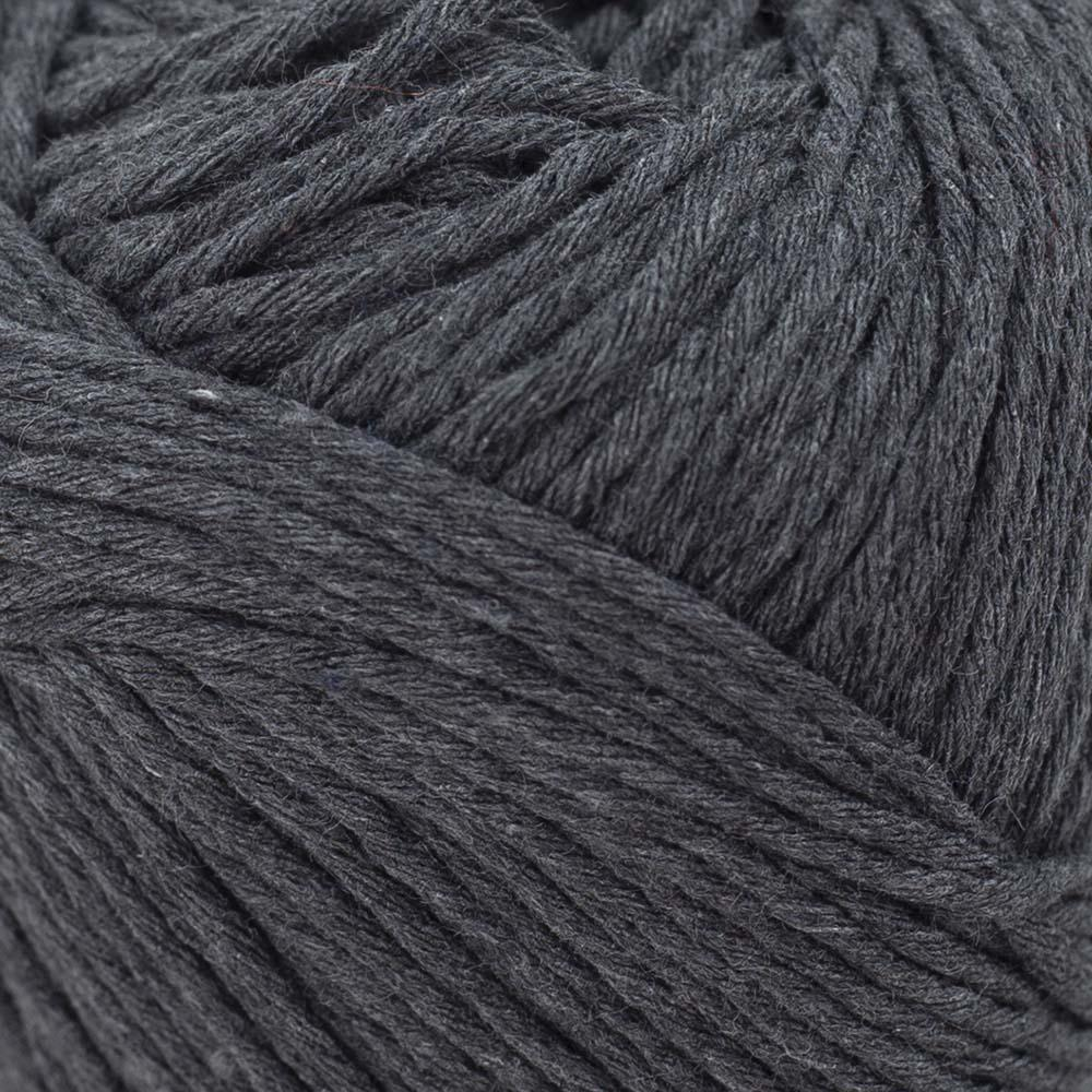 Kremke Soul Wool Karma Cotton, recycled bomuld Anthracite