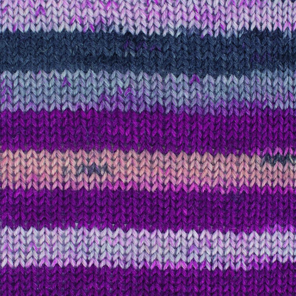 Kremke Soul Wool Edelweiss 50 Erica stripes