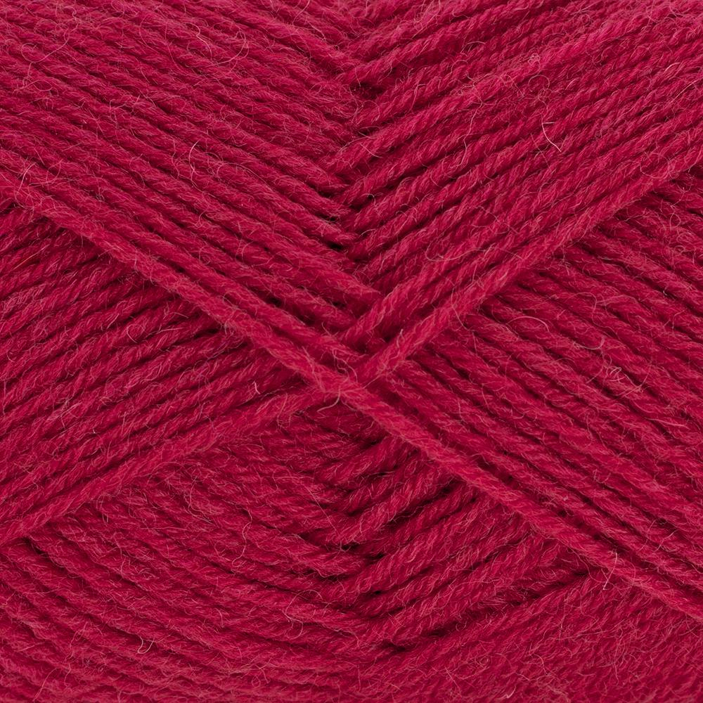 Kremke Soul Wool Edelweiss 50 Cherry red solid
