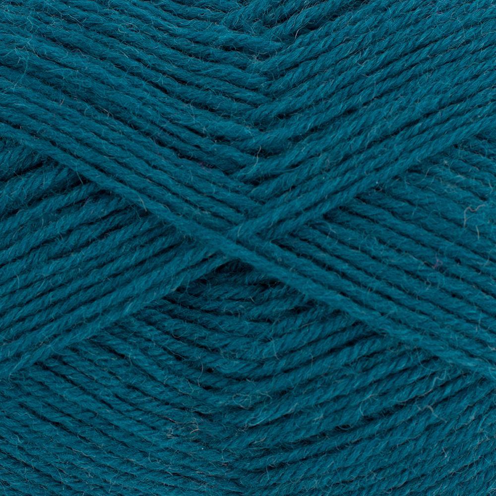 Kremke Soul Wool Edelweiss 50 Petrol solid