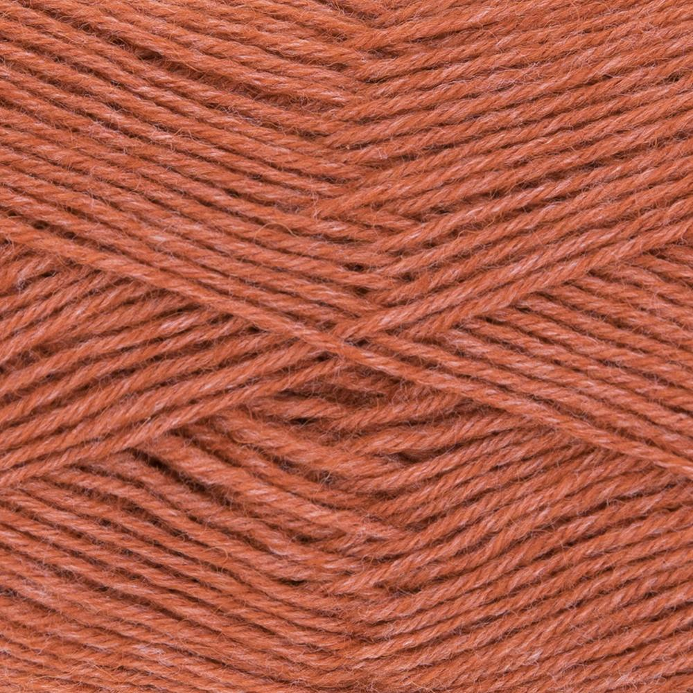 Kremke Soul Wool Edelweiss 50 Salmon solid