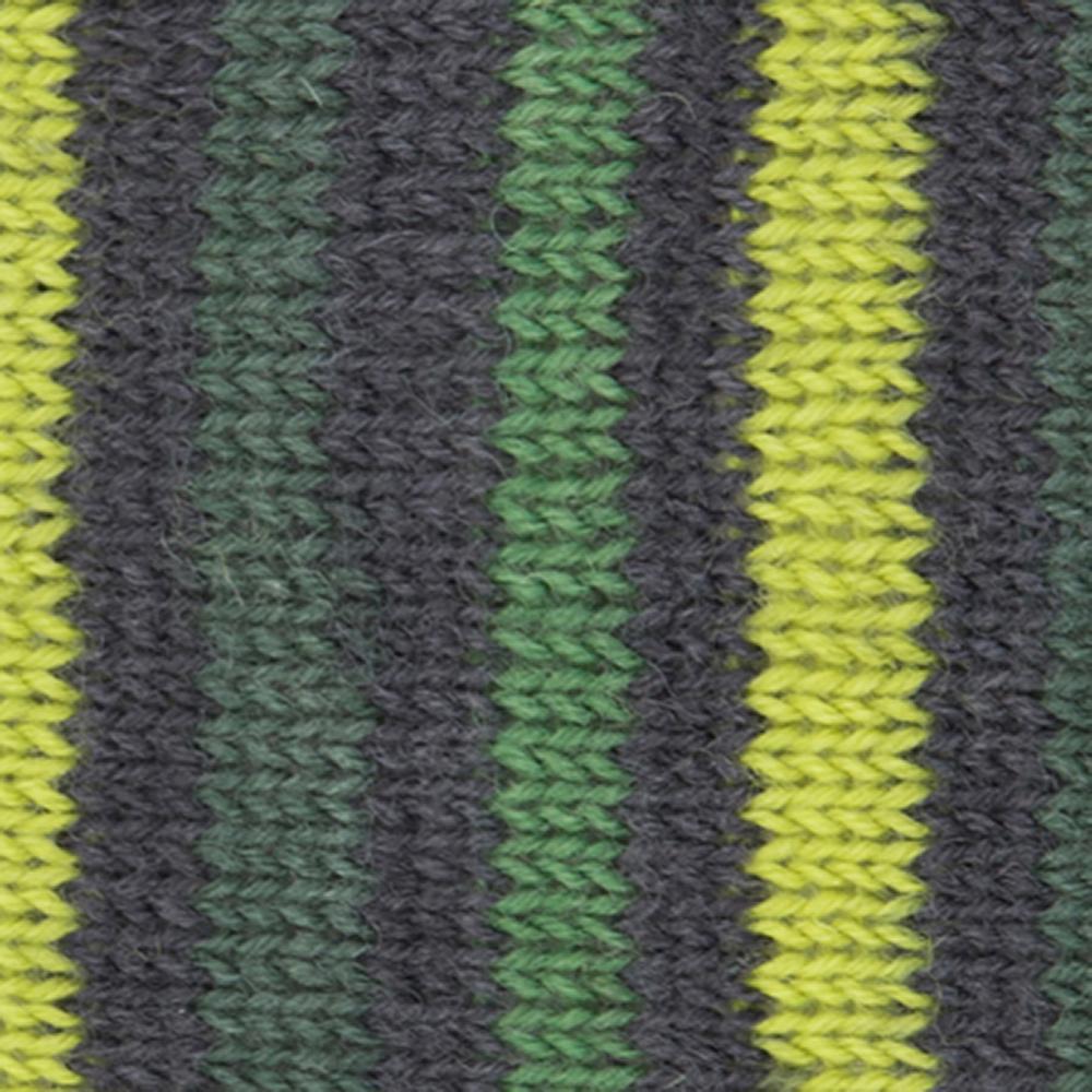 Kremke Soul Wool Edelweiss 4ply 100 Green Brown striped