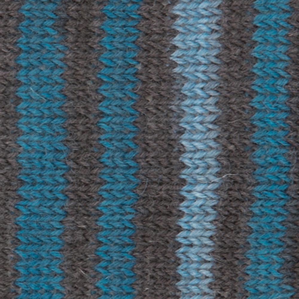 Kremke Soul Wool Edelweiss 4ply 100 Jeans Brown striped