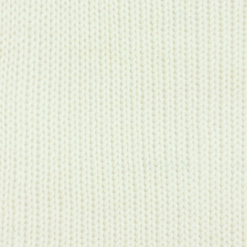 Kremke Soul Wool Edelweiss Cashmere 50 White solid