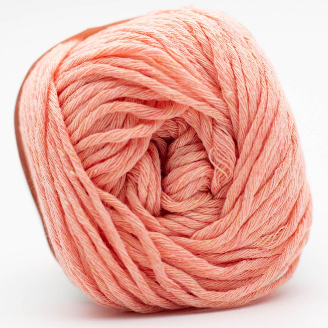 Kremke Soul Wool Karma Cotton, recycled bomuld Salmon