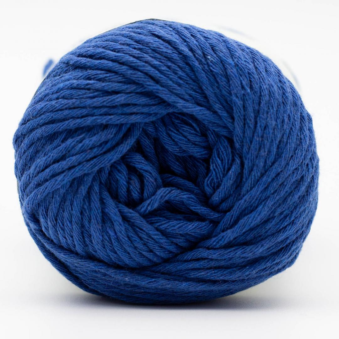 Kremke Soul Wool Karma Cotton, recycled bomuld Royal Blue
