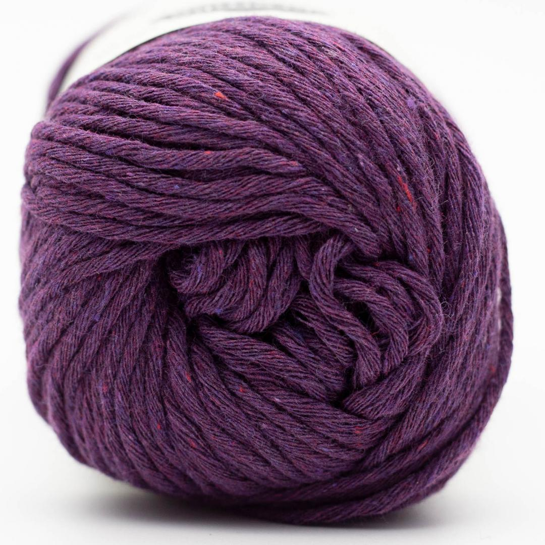 Kremke Soul Wool Karma Cotton, recycled bomuld Plum