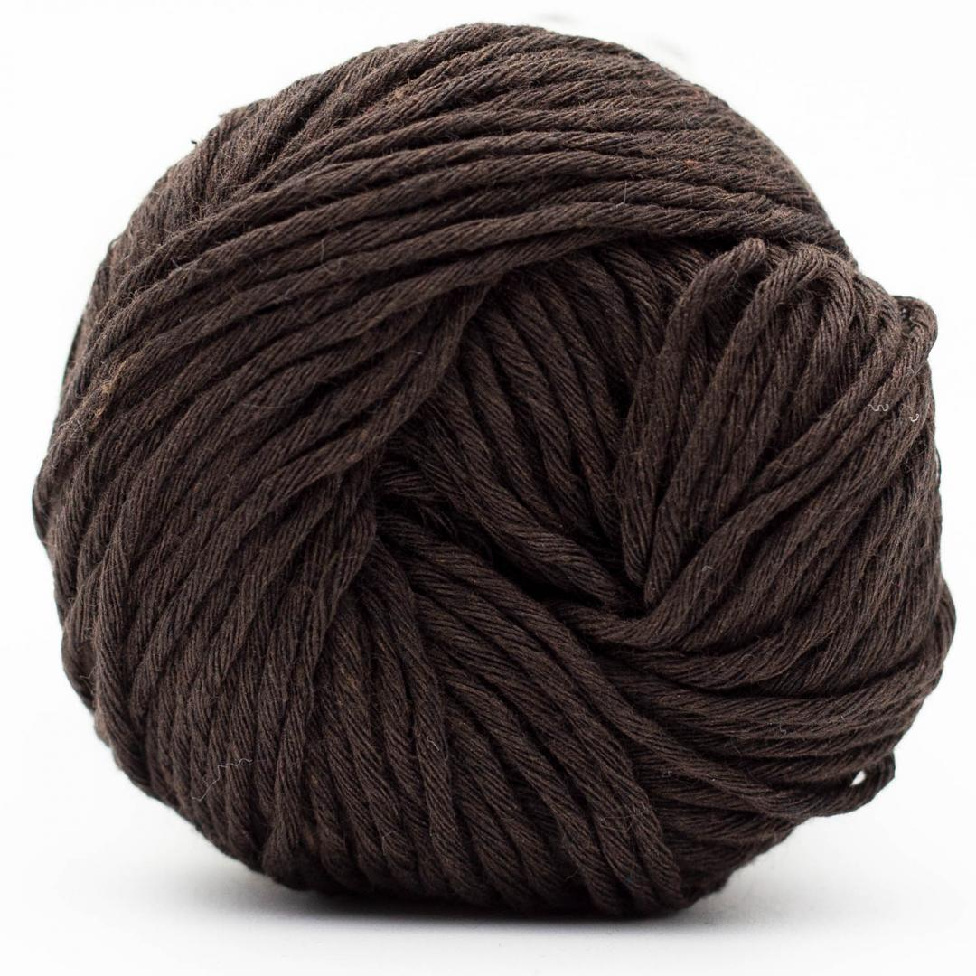Kremke Soul Wool Karma Cotton, recycled bomuld Dark Chocolate
