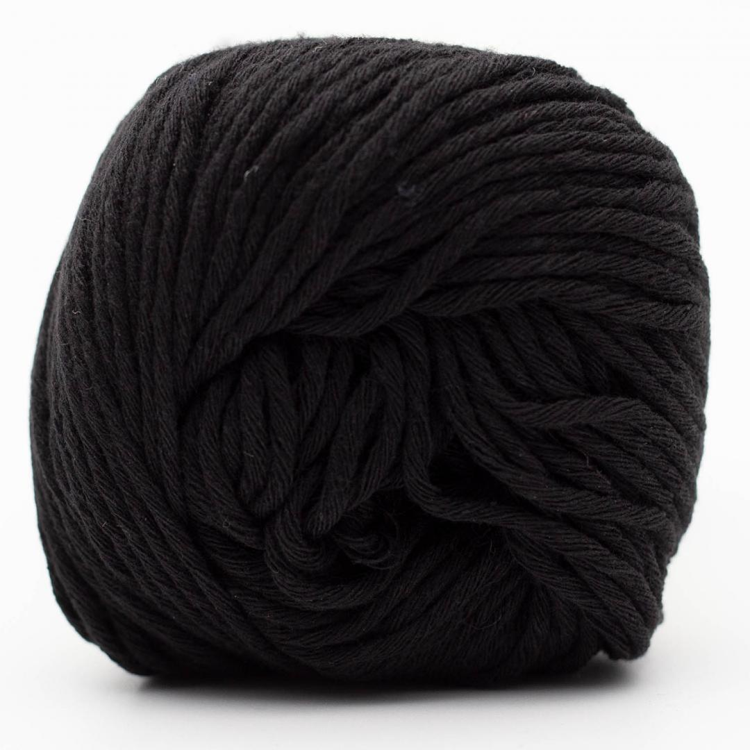 Kremke Soul Wool Karma Cotton, recycled bomuld Black