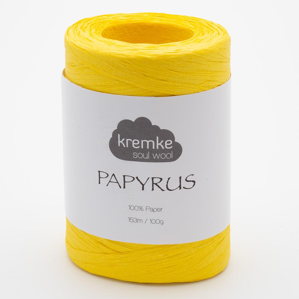 Kremke Papyrus Sonnengelb