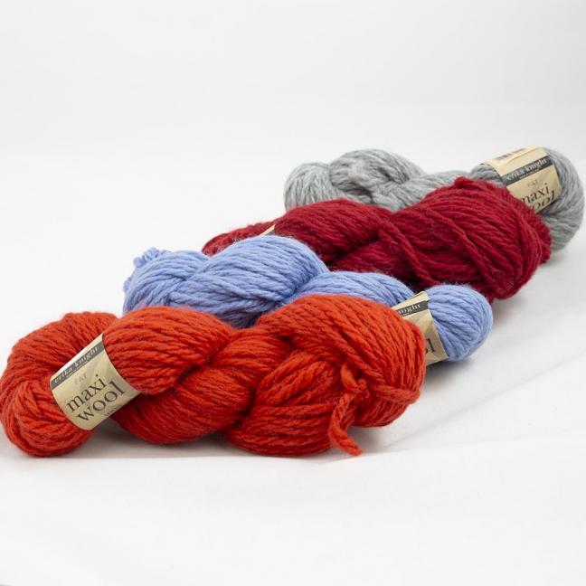 Erika Knight Maxi Wool  Geranium