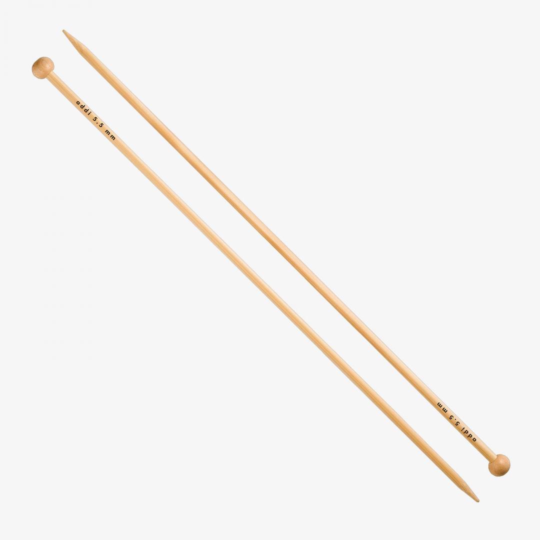 Addi Bamboo - Jacket Knitting Needles 500-7 35cm 5,0mm