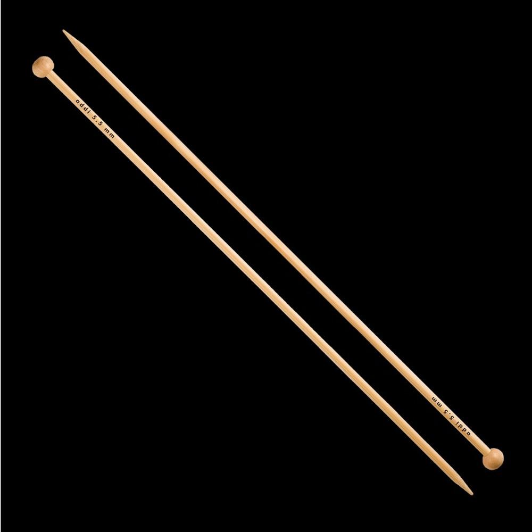 Addi Bamboo - Jacket Knitting Needles 500-7 35cm 7,0mm