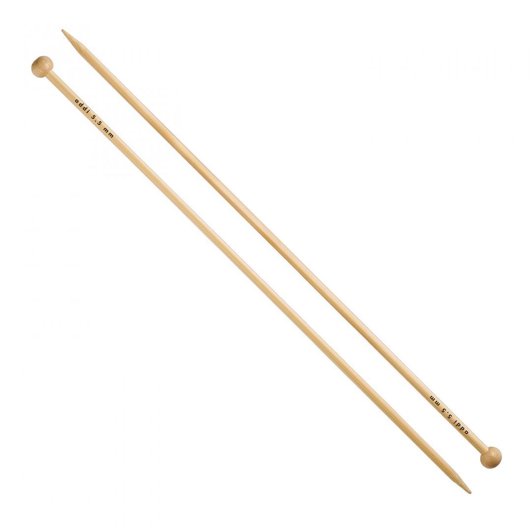 Addi Bamboo - Jacket Knitting Needles 500-7  25cm 3,75mm