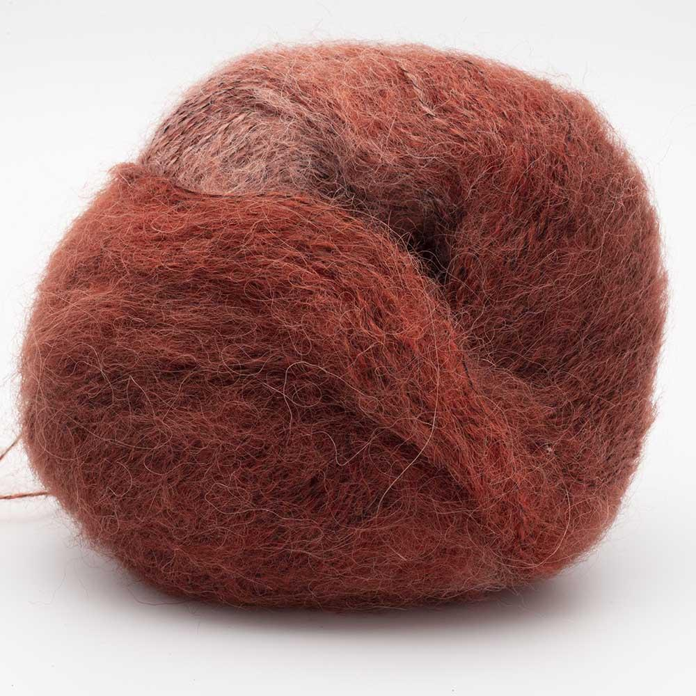 Kremke Soul Wool Baby Silk Fluffy Flerfarvet Dunkelrot Partie 0