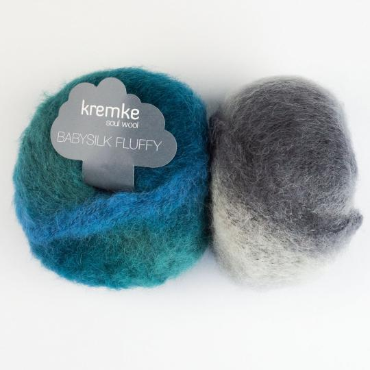 Kremke Soul Wool Baby Silk Fluffy Flerfarvet