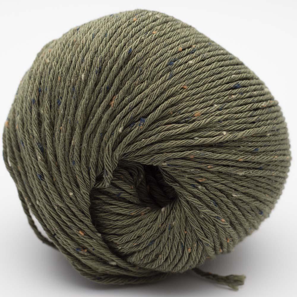 Erika Knight Gossypium Cotton TWEED Khaki