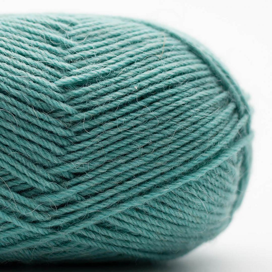 Kremke Soul Wool Edelweiss Alpaka 4-ply 25g Türkis