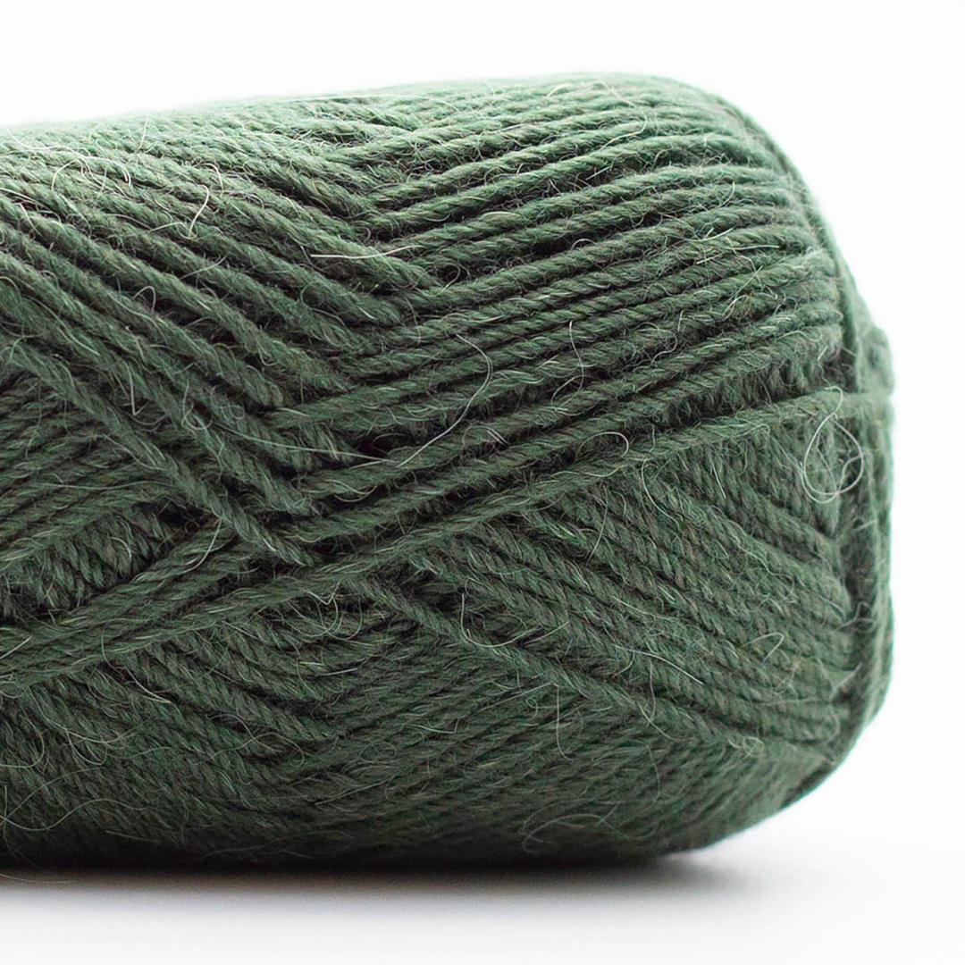 Kremke Soul Wool Edelweiss Alpaka 4-ply 25g Käfer-Grün
