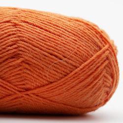 Kremke Soul Wool Edelweiss Alpaka 4-ply 25g Dunkelorange