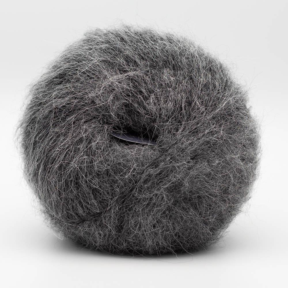 Kremke Soul Wool Baby Silk Fluffy solid Grey melange