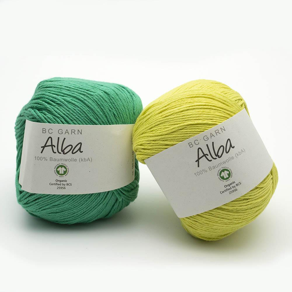 BC Garn Alba GOTS discontinued colors