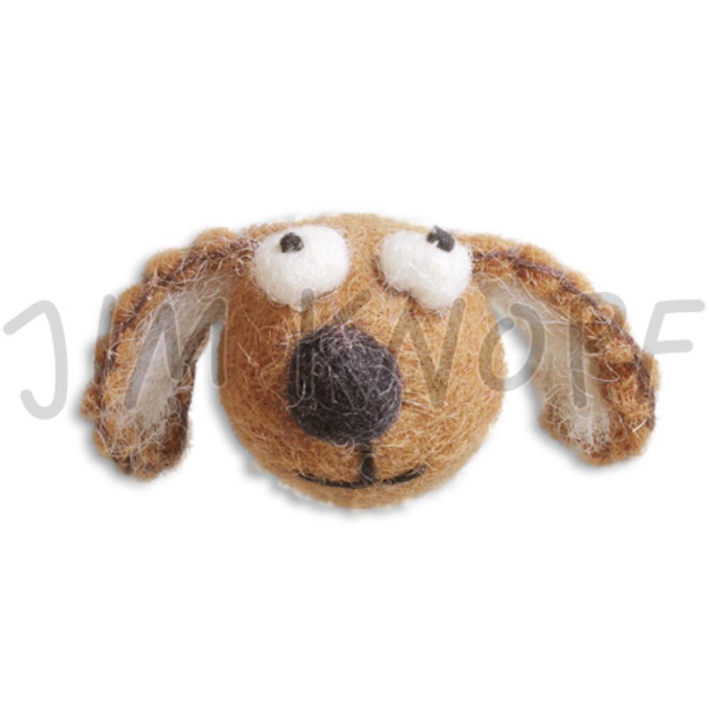 Jim Knopf Felted animal faces  Hund