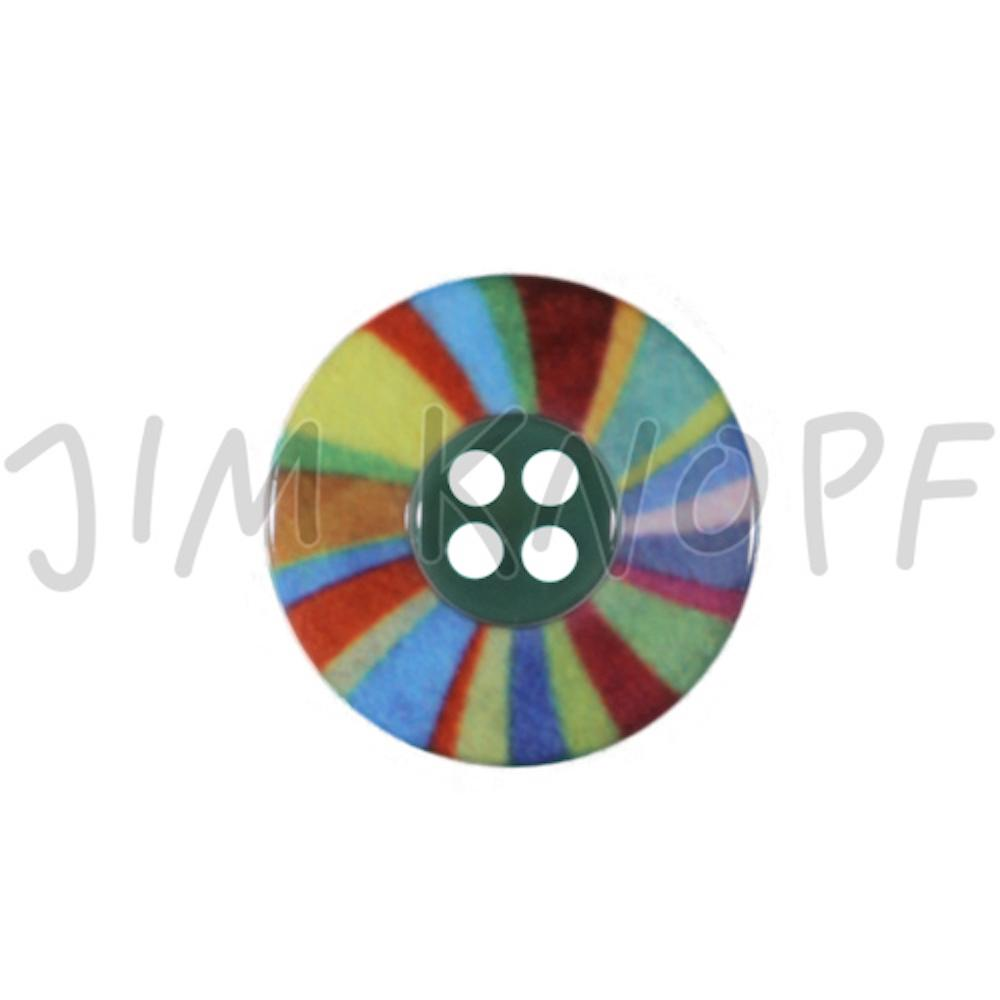 Jim Knopf Plastic button colorful wheel Bunt 24