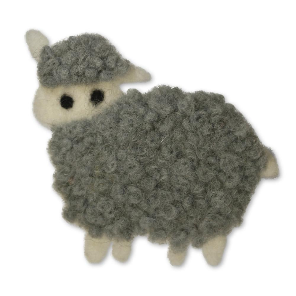 Jim Knopf Felted sheep motivs Elsa