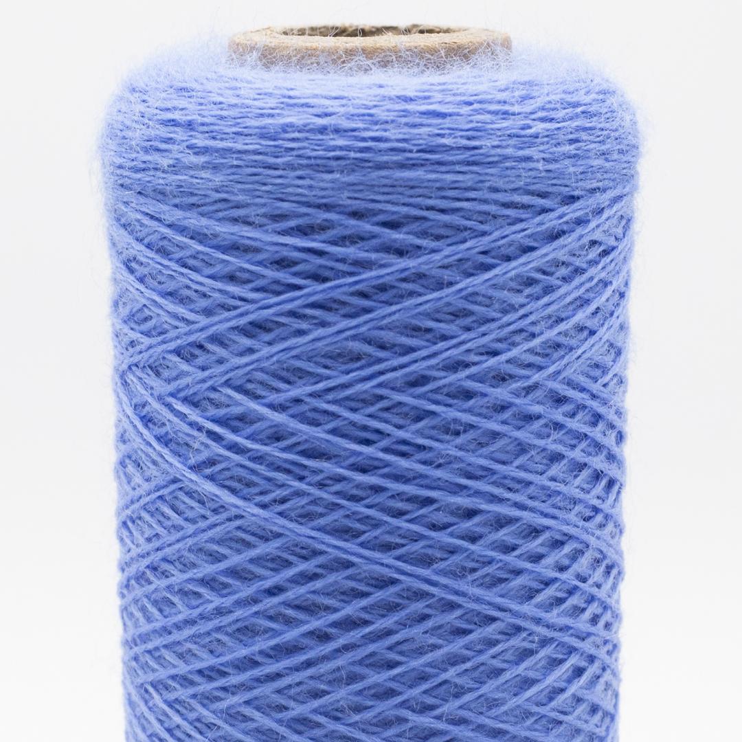 Kremke Soul Wool Merino Spindelvævs Lace 30/2 superfine superwash Stahlblau