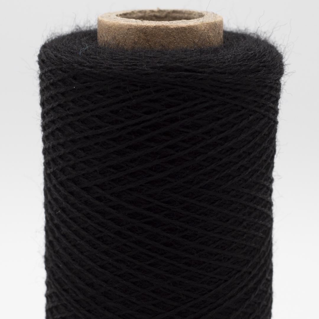 Kremke Soul Wool Merino Spindelvævs Lace 30/2 superfine superwash Schwarz