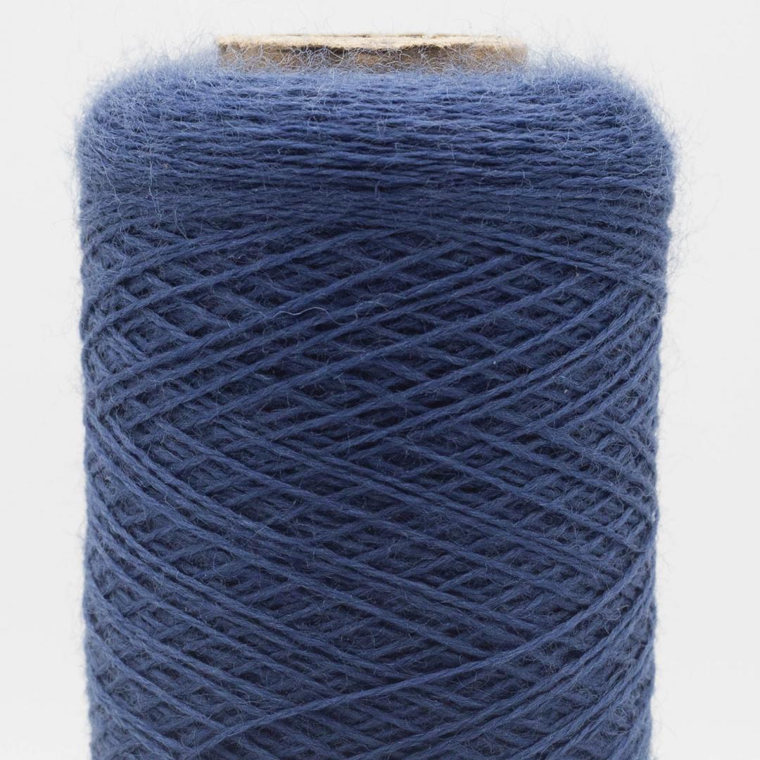 Kremke Soul Wool Merino Spindelvævs Lace 30/2 superfine superwash Denim meliert