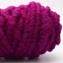 Kremke Soul Wool RUGby Teppichwolle gefärbt Cyclam