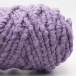Kremke Soul Wool RUGby Teppichwolle gefärbt Flieder
