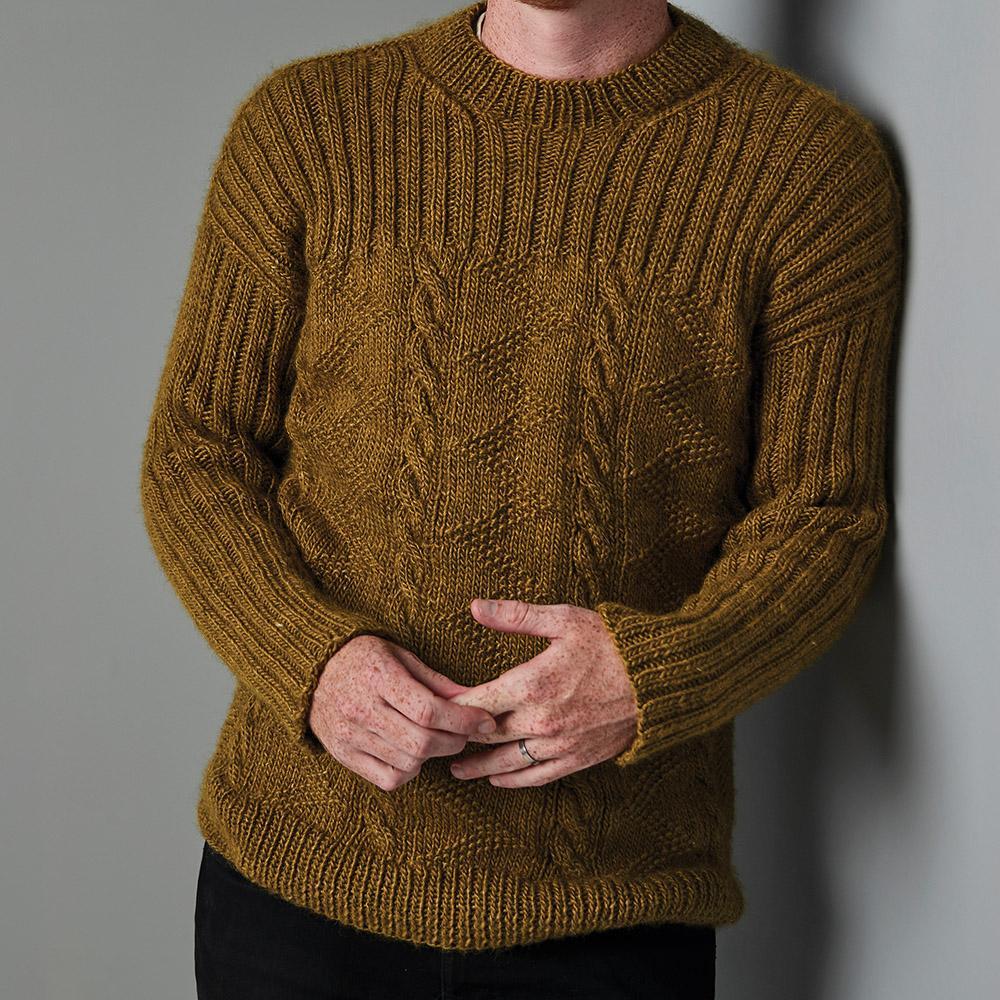 Erika Knight Opskrifter FORESTHILL til Wild Wool EK0015