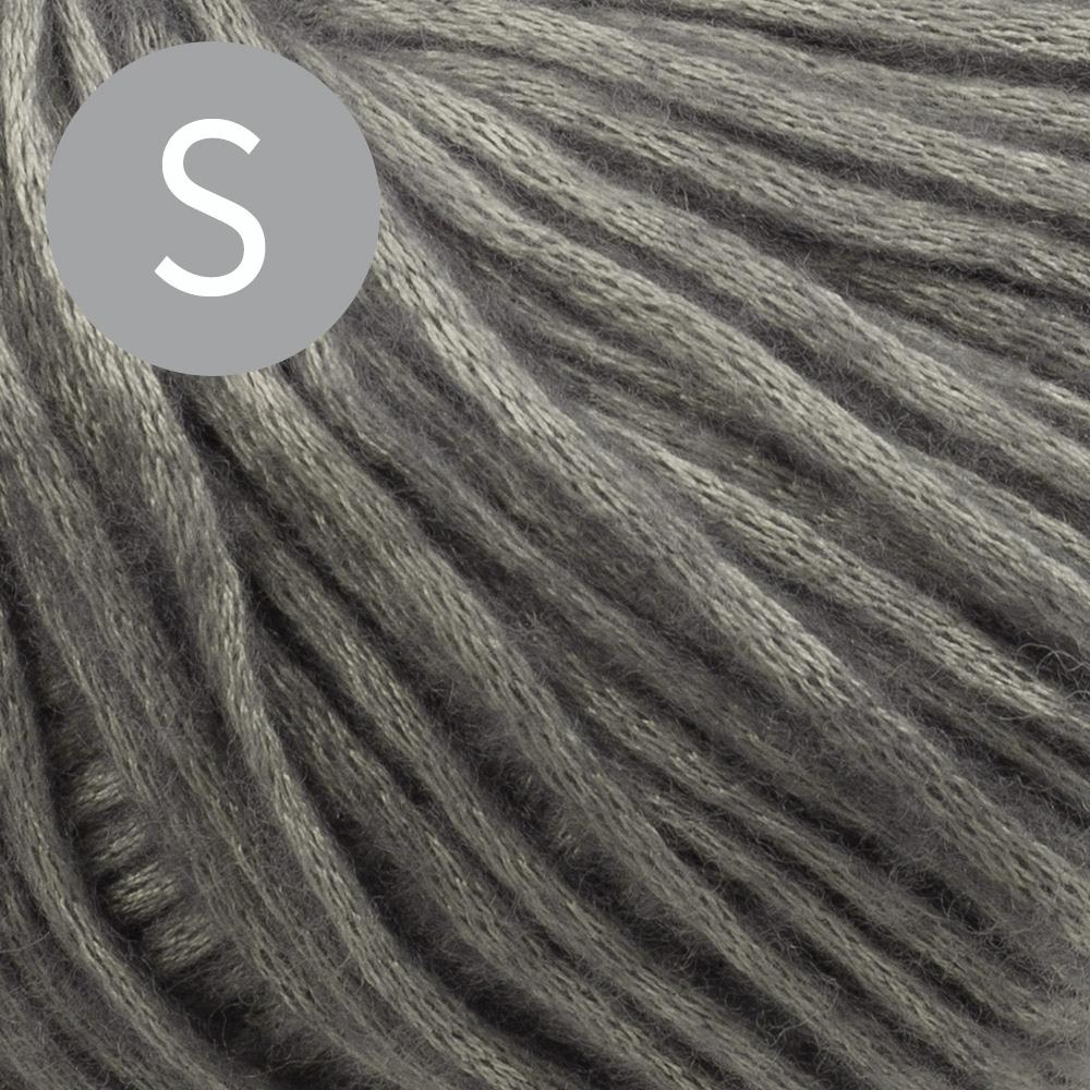 Kremke Soul Wool Set Häkelpullover Breeze Silber