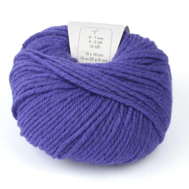 BC Garn Semilla Grosso violett
