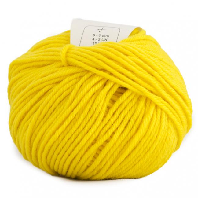 BC Garn Semilla Grosso sunshine yellow